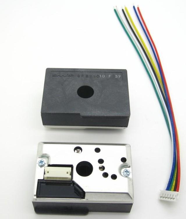 GP2Y1010AU0F灰尘传感器外观图