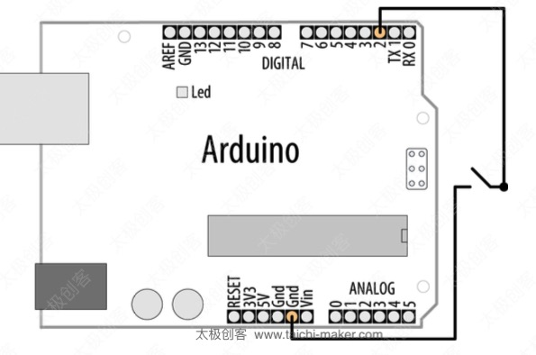 Aruduino-pullup-input