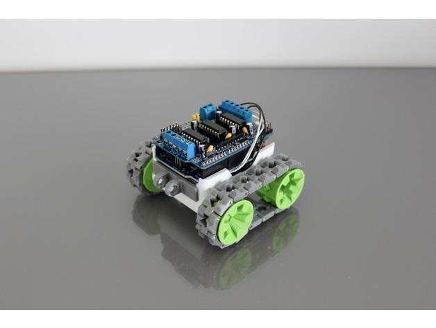 SMARS采用Arduino电机扩展板
