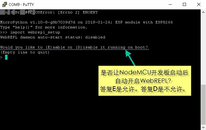 为NodeMCU设置MicroPython WebREPL-2