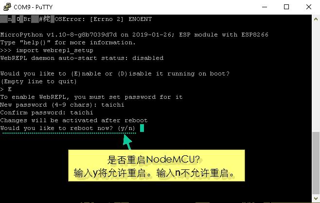 为NodeMCU设置MicroPython WebREPL-6