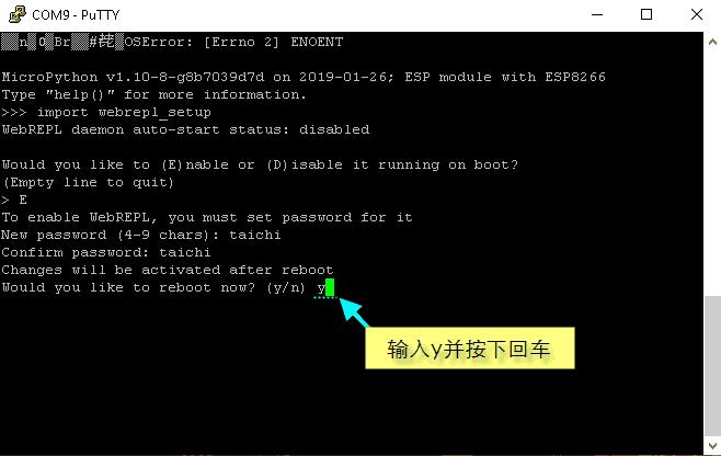 为NodeMCU设置MicroPython WebREPL-7
