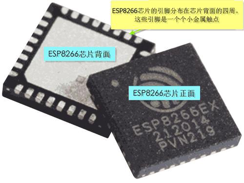 esp8266芯片引脚位置