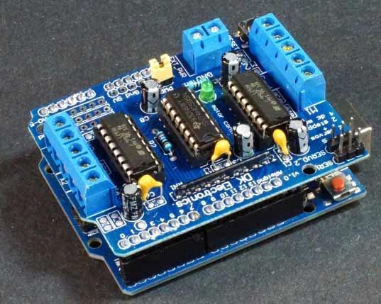 Arduino-AFMotor-电机扩展板