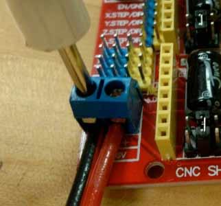 Arduino-CNC-扩展板外接电源连接方法