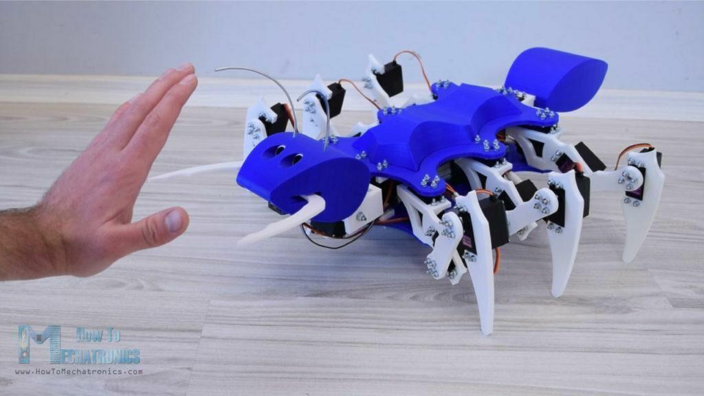 Arduino 蚂蚁 六足 机器人