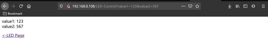 用于演示如何通过ESP8266开发板建立的多个网页文本框获取用户输入的信息-1