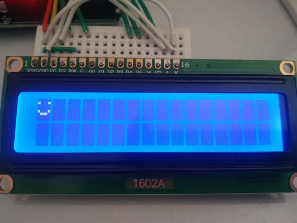 LCD效果演示  Arduino   lcd1602   屏幕模块  太极创客